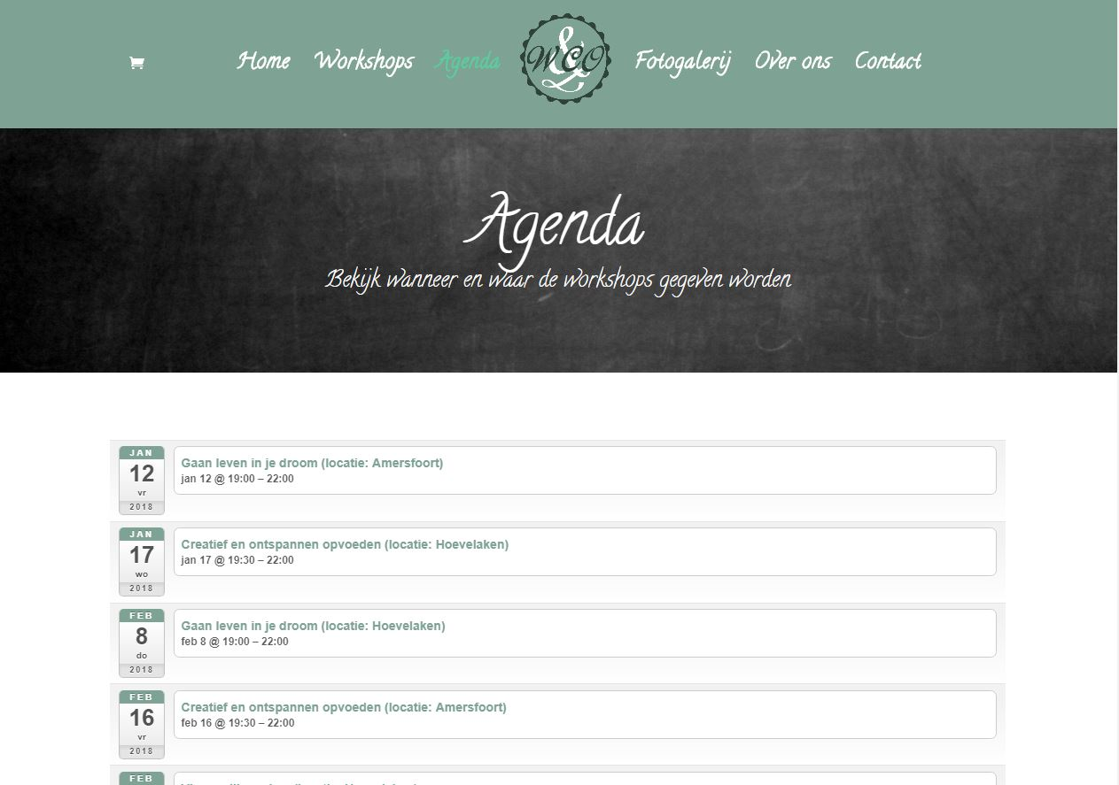 Workshop and Company agenda